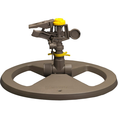 Nelson Sprinkler 50203 Small Circular Base Pulsating Sprinkler by Nelson Sprinkler