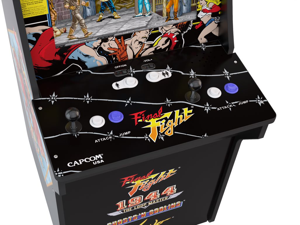 Final Fight Arcade Machine, Arcade1UP, 4ft - Walmart com