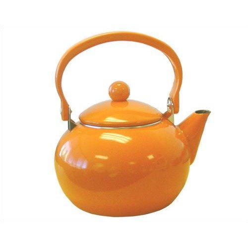 Reston Lloyd Calypso Basics 64 oz Harvest Tea Kettle in Orange