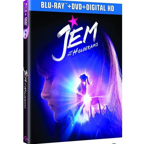 Jem And The Holograms (Blu-ray + DVD + Digital HD) (Anamorphic Widescreen)