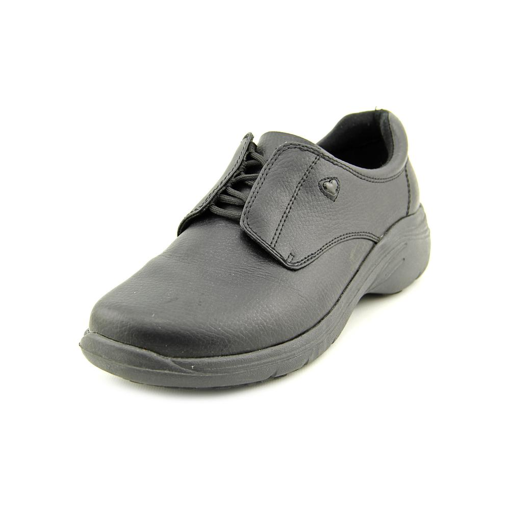 Click here to buy Nurse Mates Louise W Round Toe Leather Nursing & Medical Shoe by Nurse Mates.