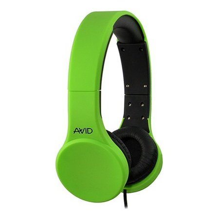 Ergoguys Headset with Inline Microphone and Volume Control, Green