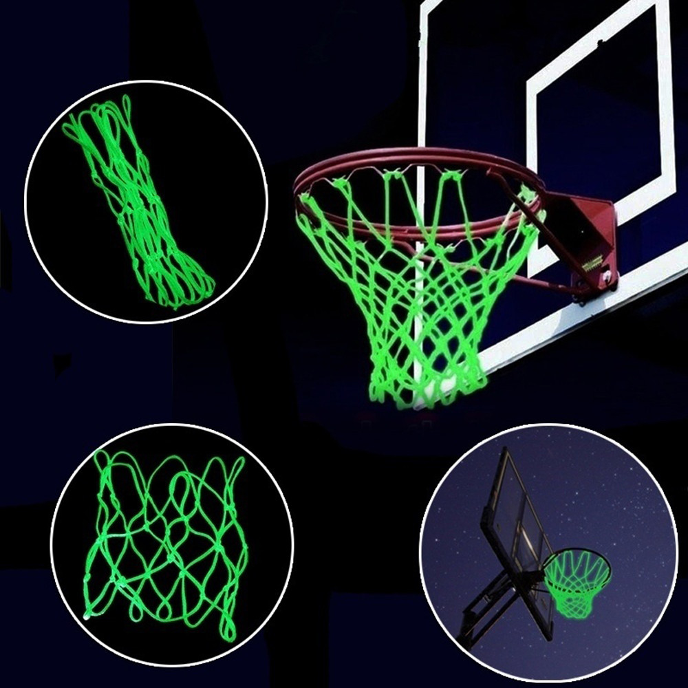 Visible At Night Luminous Basketball Net Outdoor Sports Accessories Sporting GN