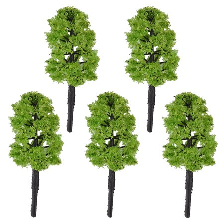 Building House Garden Park Street Layout Scale Scenery Incense Tree