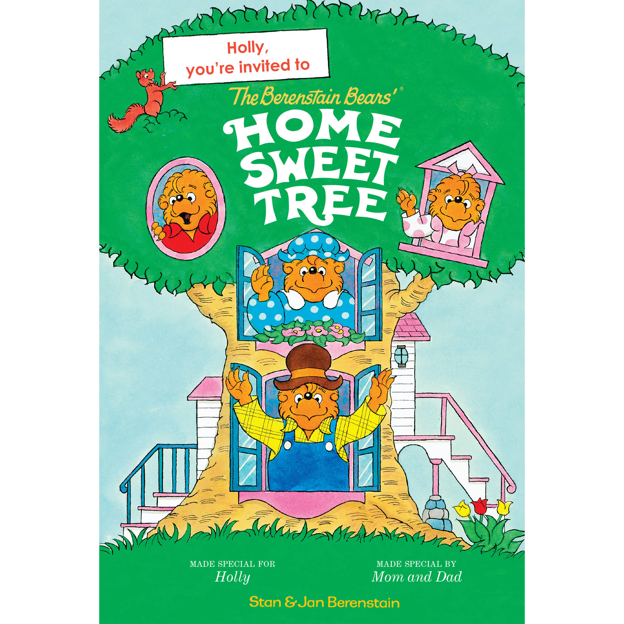 Personalized Book - The Berenstain Bears' Home Sweet Tree