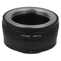 Fotodiox Lens Mount Adapter - M42 Screw Mount SLR Lens to Fujifilm X-Series Mirrorless Camera Body