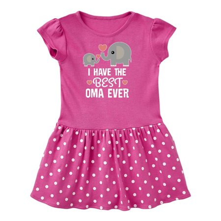 Best Oma Ever Grandchild Gift Toddler Dress