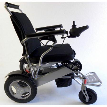 Deluxe electric Powered Foldable Mobility Wheelchair