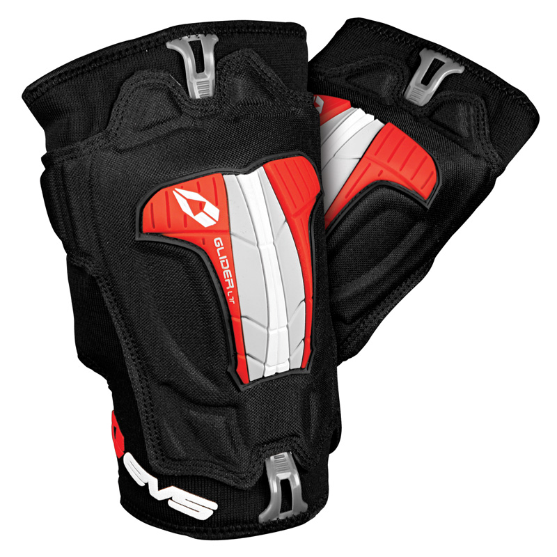 EVS Glider Lite MX Offroad Knee Pads/Guards Black