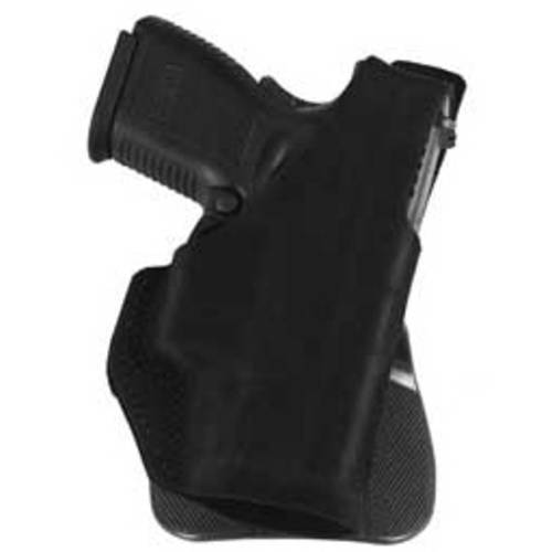 Galco Paddle Lite Holster, Fits Kahr MK40 MK9 PM40 PM9, Right Hand, Black Leather by Galco
