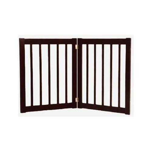 Essential Pet Products 42420 Small Two Panel Ez Pet Gate - Black