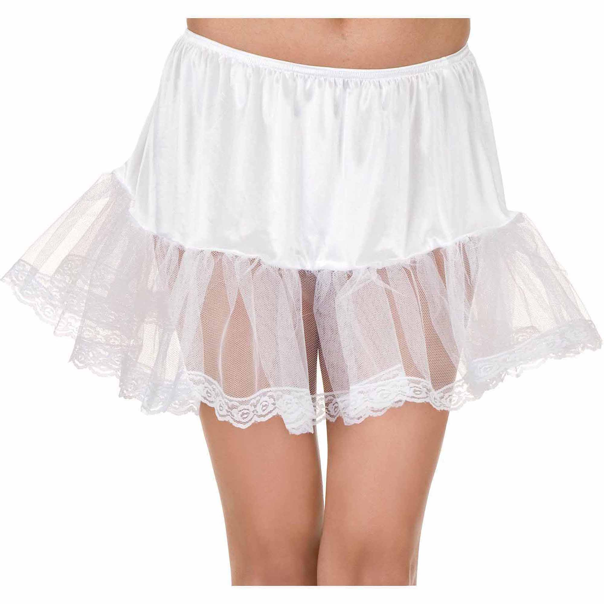 Lace White Petticoat Adult Halloween Accessory