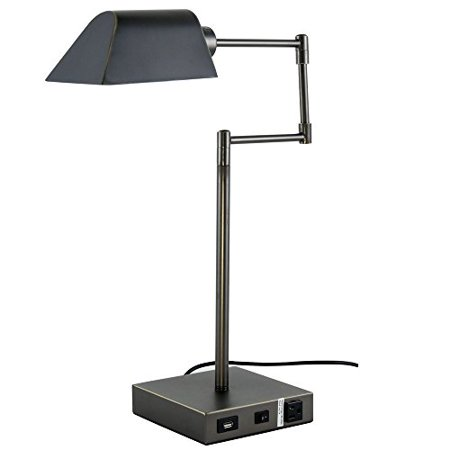 1-Light Table Lamp in Bronze Finish - image 1 of 1