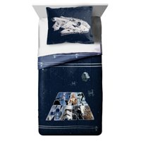 Disney Star Wars Kid's Twin & Full Reversible Comforter and Sham Set