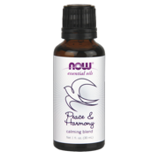 NOW Essential Oils Peace & Harmony Calming Blend, 1 Oz