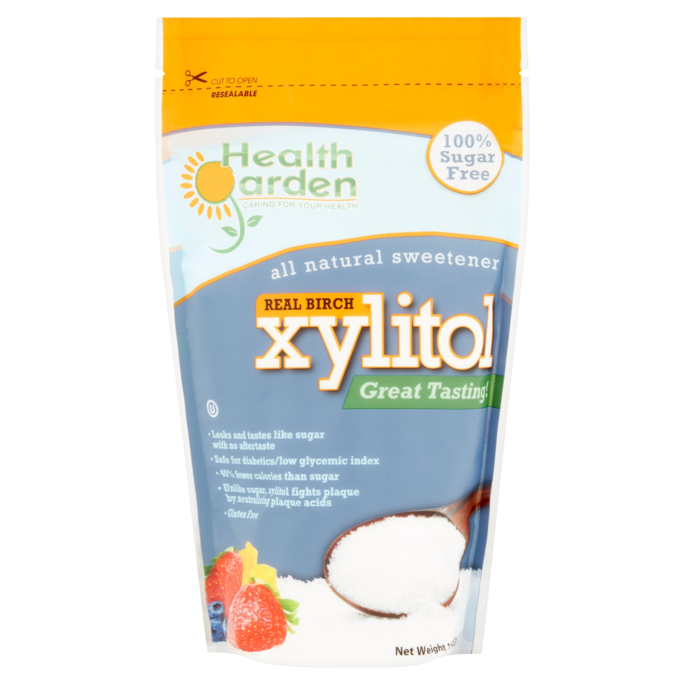 Health Garden Xylitol Real Birch All Natural Sweetener, 1 lb