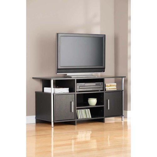 Mainstays Ms Black/mtl Tv Stand