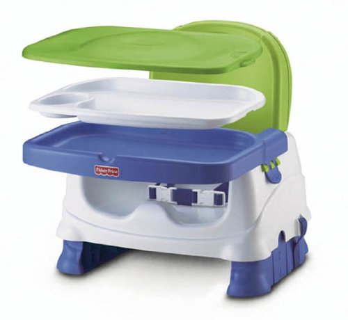 Fisher Price Healthy Care Booster - Green & Blue