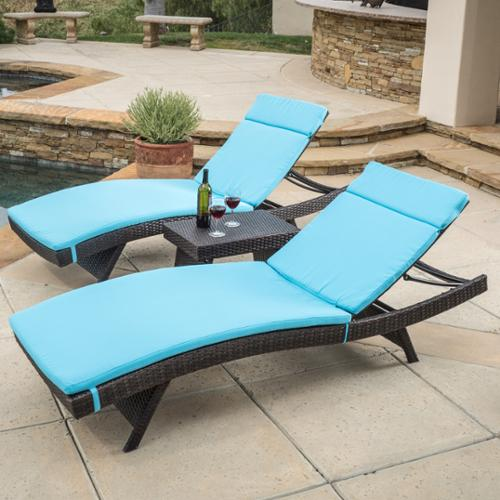 Carlsbad Chaise Lounger Set