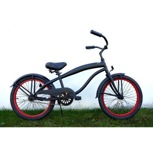 Greenline Bicycles Boy's 20'' Single Speed Beach Cruiser