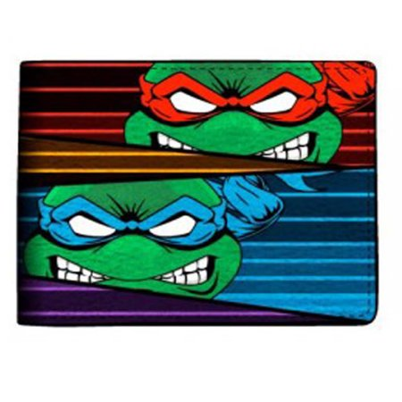 Turtle Wallet (Teenage Mutant Ninja Turtles Masks Bi-Fold Wallet)