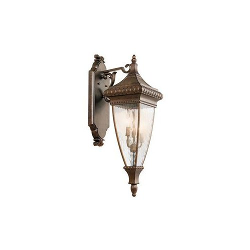 49132B 3 Light Venetian Rain Outdoor Sconce by Kichler Lighting