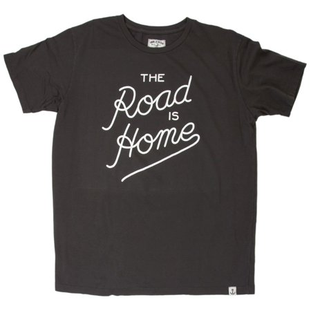 Iron and Resin Men's The Road is Home Tee Charcoal