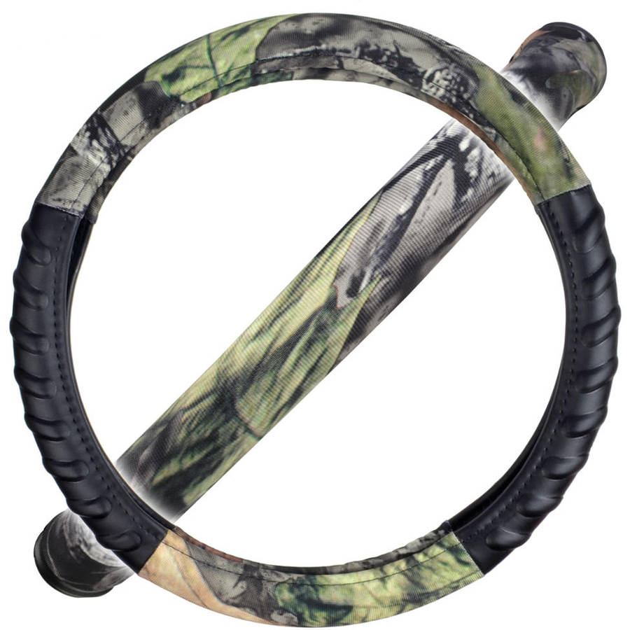 Camo Steering Wheel Cover for Car SUV Truck- HAWG Camouflage, Odorless, BPA-Free