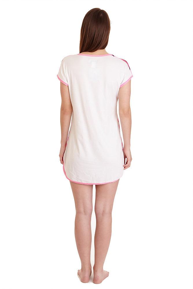 1db527bf0c Lati Fashion - 5008 Womens Nightgown Sleepwear Pajamas Woman Sleep Dress  Nightshirt 118 Pink XL - Walmart.com
