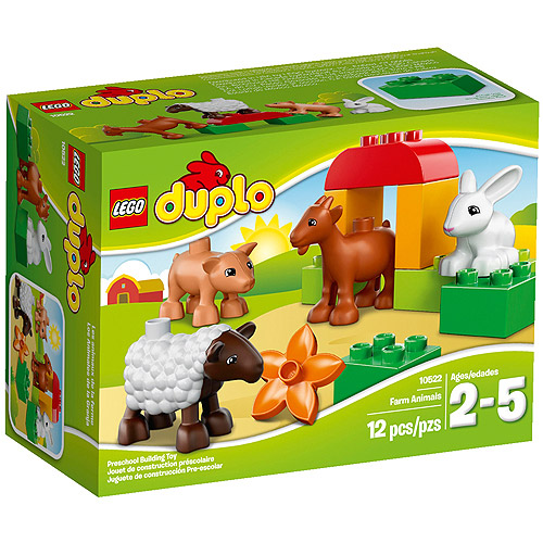 LEGO DUPLO Ville Farm Animals Building Set