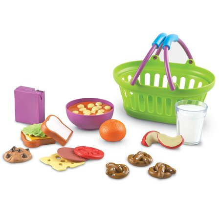 Learning Resources New Sprouts Lunch Basket, Ages 18 mos+ ()