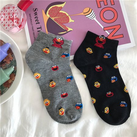 Cartoon Stockings Floor Socks Household Colorful Winter Warm Anti-slip - image 6 de 8