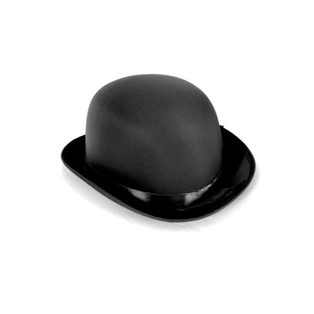 Dress Up Party Costume BOWLER - Black Birthday Party Hats