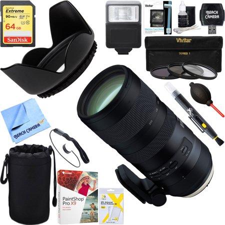 Tamron (AFA025C-700) SP 70-200mm F/2.8 Di VC USD G2 Full-Frame Lens ...