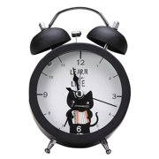 Daxin Bell Alarm Clock With Nightlight And Loud Student Silent Bedside Desk For Kid