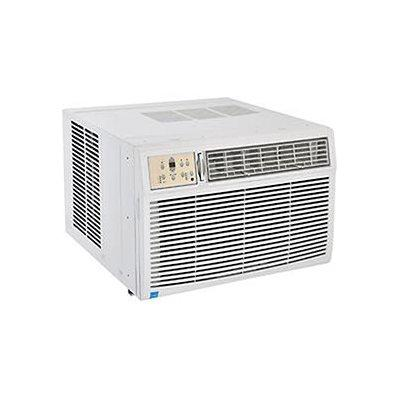 230/208v Window Air Conditioner With Heat, 25k Btu Cool, 16k Btu Heat
