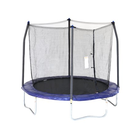 Skywalker Trampolines 8-Foot Trampoline, with Safety Enclosure,