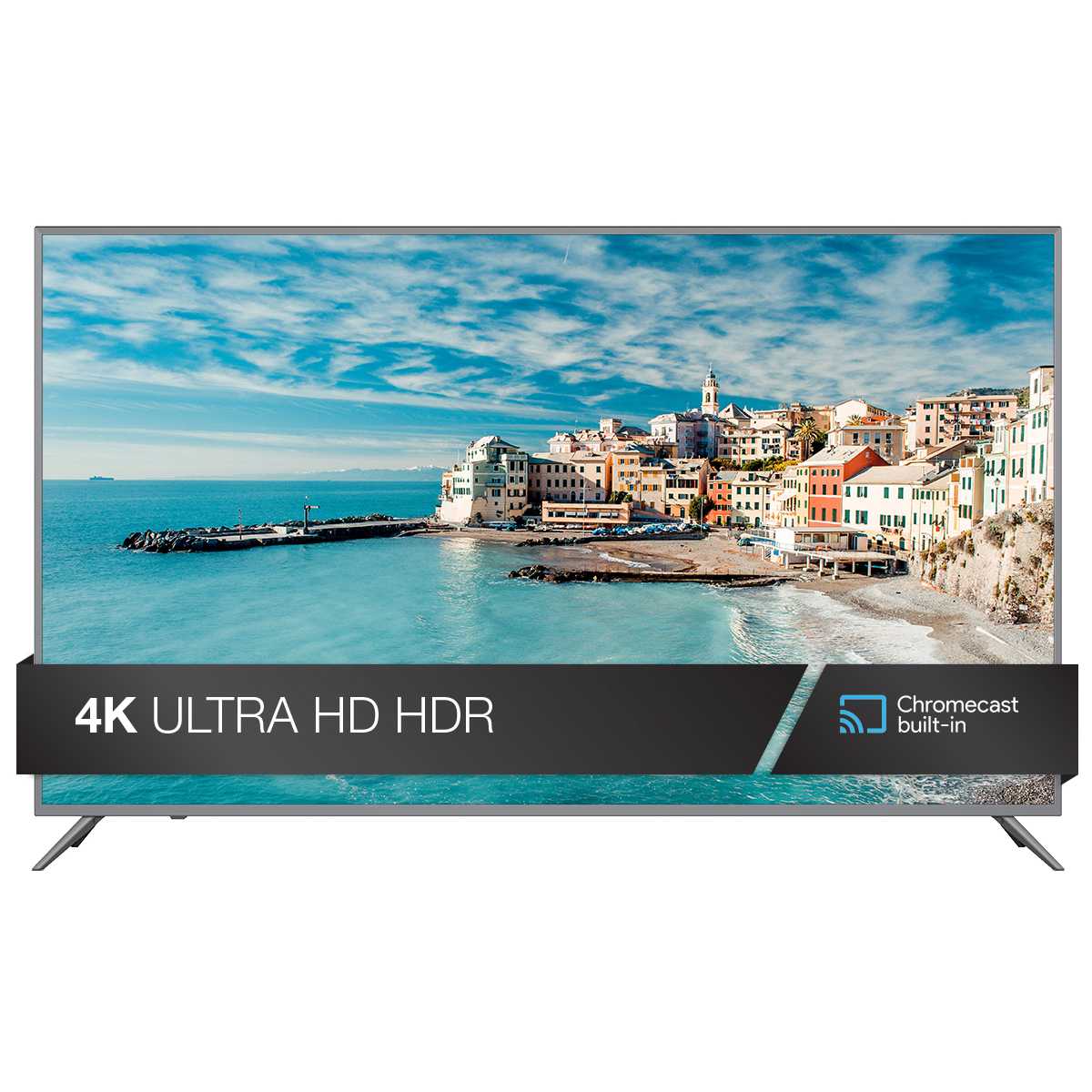 "JVC 65"" Class 4K Ultra HD (2160p) HDR Smart LED TV with Built-in Chromecast (LT-65MA875)"