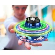 Hyper Toys Cyberspin Flying Spinner, Blue
