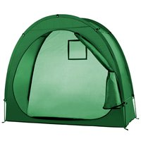 Bike Tent Bike Storage Shed 190T Bicycle Storage Shed With Window Design For Outdoors Camping