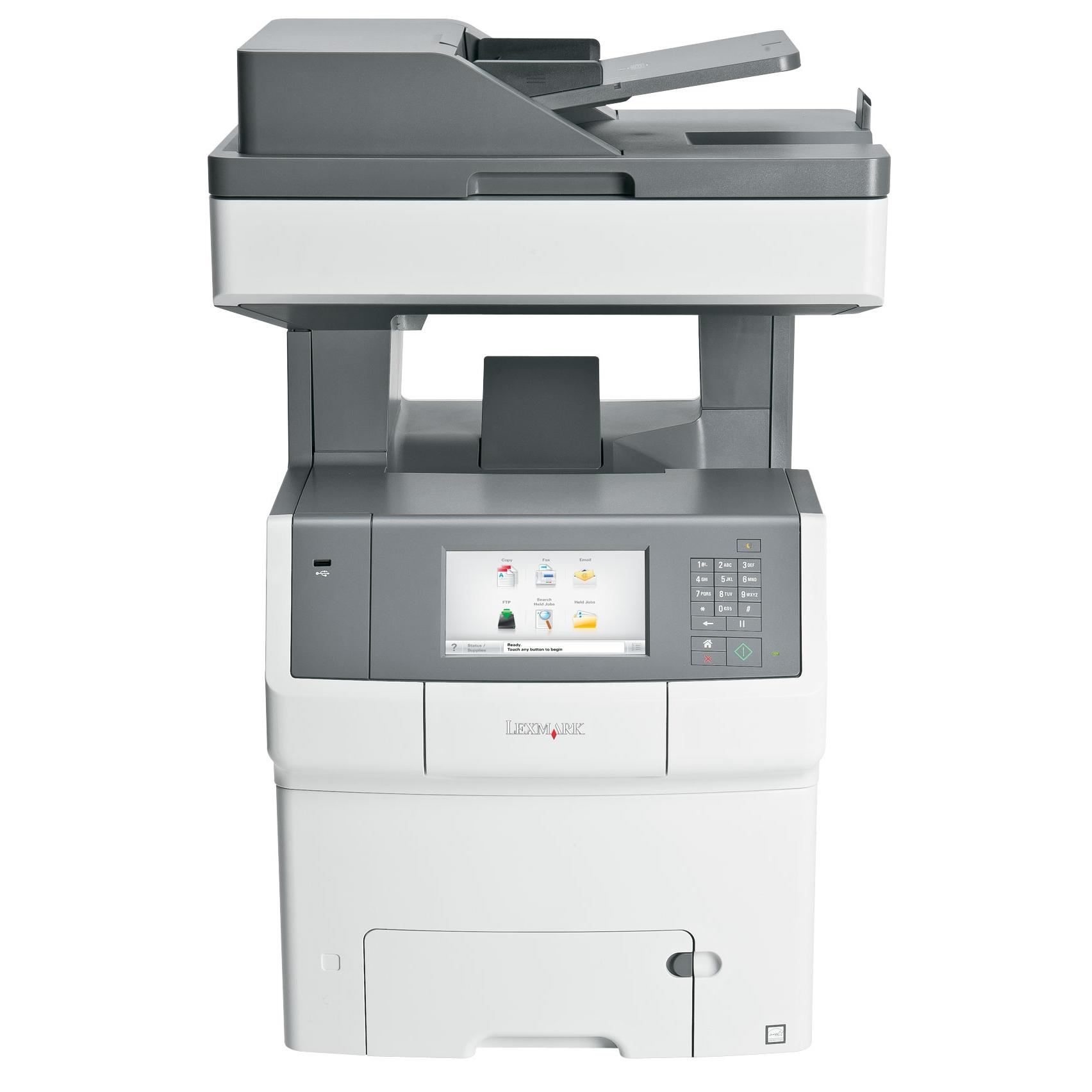 Lexmark X748DE All-In-One Color fax, Copier, Scanner Eco-friendly Laser Printer (Manufacturer Refurbished) by Lexmark