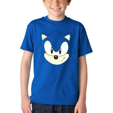 Sonic The Hedgehog Face Youth T-Shirt](Sonic The Hedgehog Tattoos)