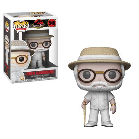 Funko POP Movies: Jurassic Park - John Hammond - Jurassic Park Decorations