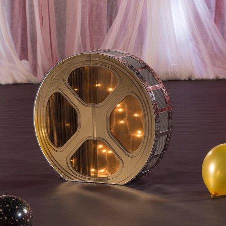 2 ft. 4 in. Hollywood 3D Film Reel Prop - Film Reel Decoration
