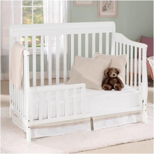 Baby Time International, Inc. Big Oshi Stephanie 5-in-1 Convertible Crib