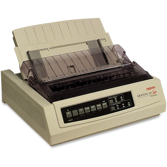 Oki MICROLINE 320 Turbo 9-Pin Dot Matrix Printer, Open Box