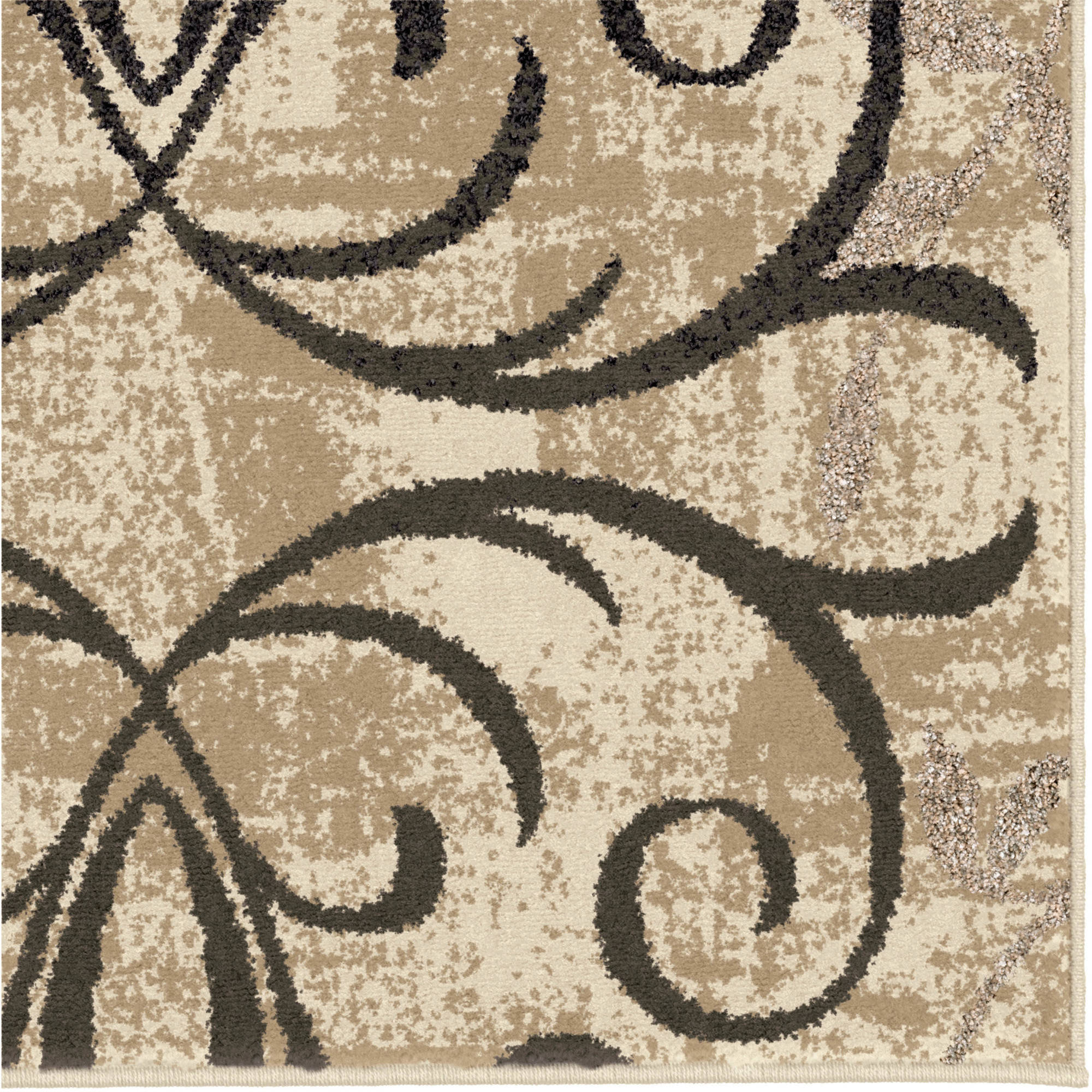 Better Homes and Gardens Iron Fleur Area Rug or Runner Walmartcom