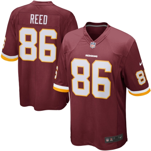 Jordan Reed Washington Redskins Youth Nike Team Color Game Jersey - Burgundy