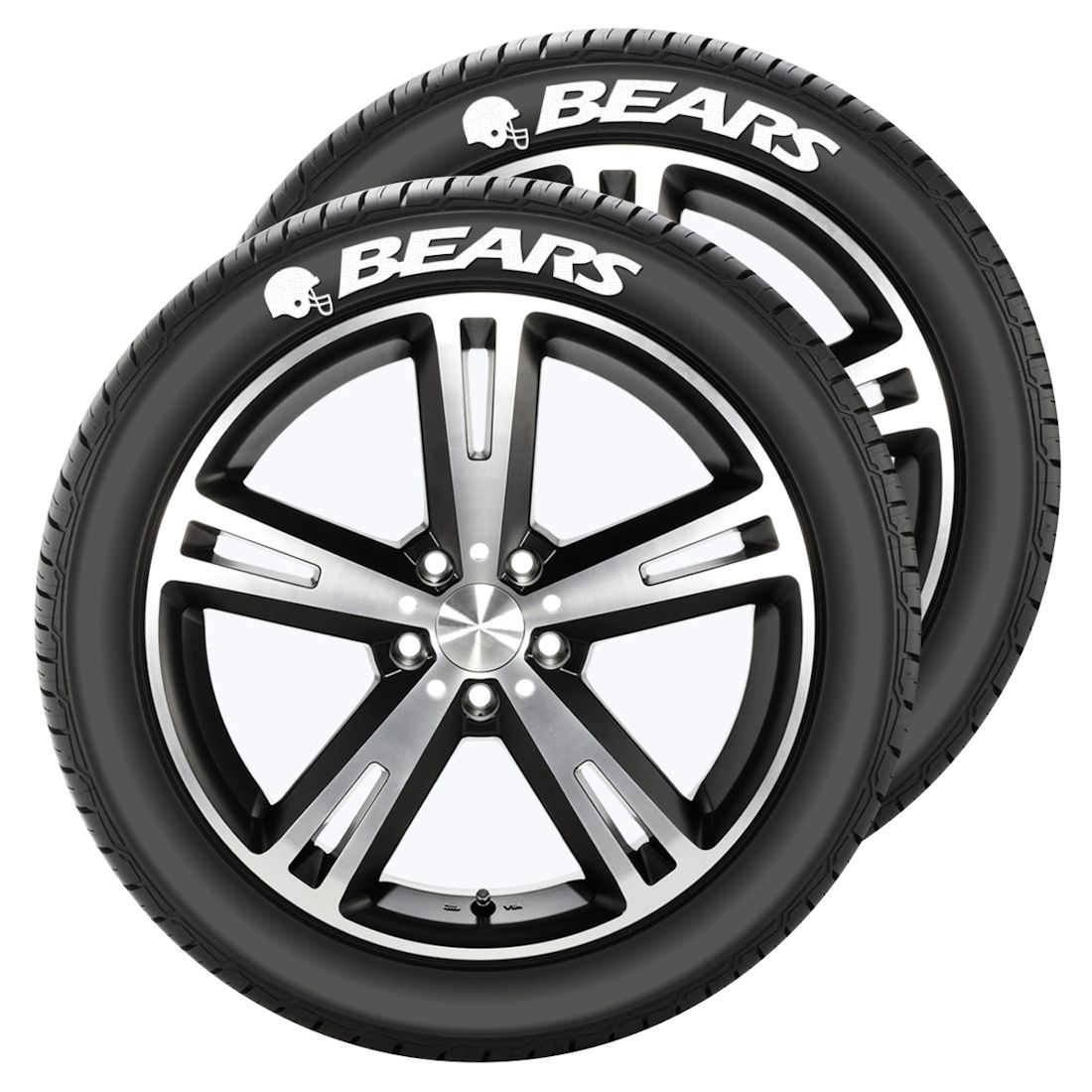 Chicago Bears Tire Tatz by Team Promark