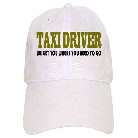 61bfd6409 CafePress - Funny Taxi Driver - Printed Adjustable Baseball Cap